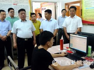 贺州市委副书记、市人民政府市长林冠深入平桂区调研脱贫攻坚工作
