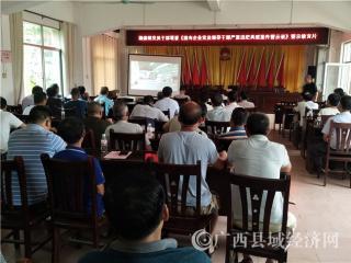 江州区:濑湍镇组织党员干部观看 《国有企业党员领导干部严重违纪典型案件警示录》