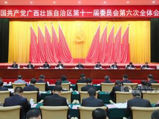 中国共产党广西壮族自治区第十一届委员会第六次全体会议公报