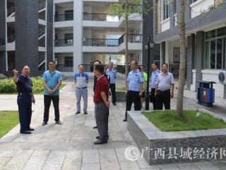 凌云:刘海煌率队进行高考考前安全检查