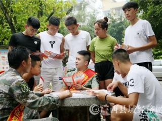 融安县:征兵宣传进校园 携笔从戎砺青春