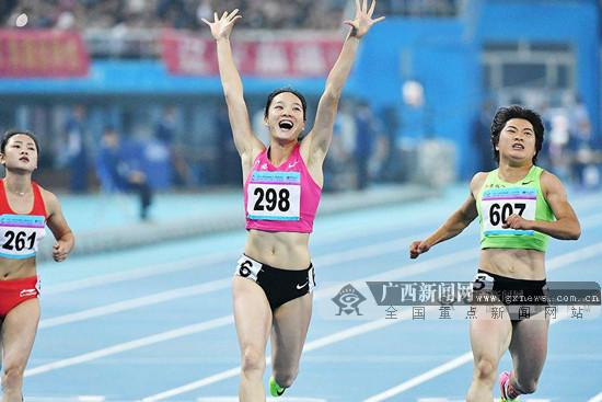 11秒04!韦永丽百米赛场11秒04创今年亚洲最好成绩