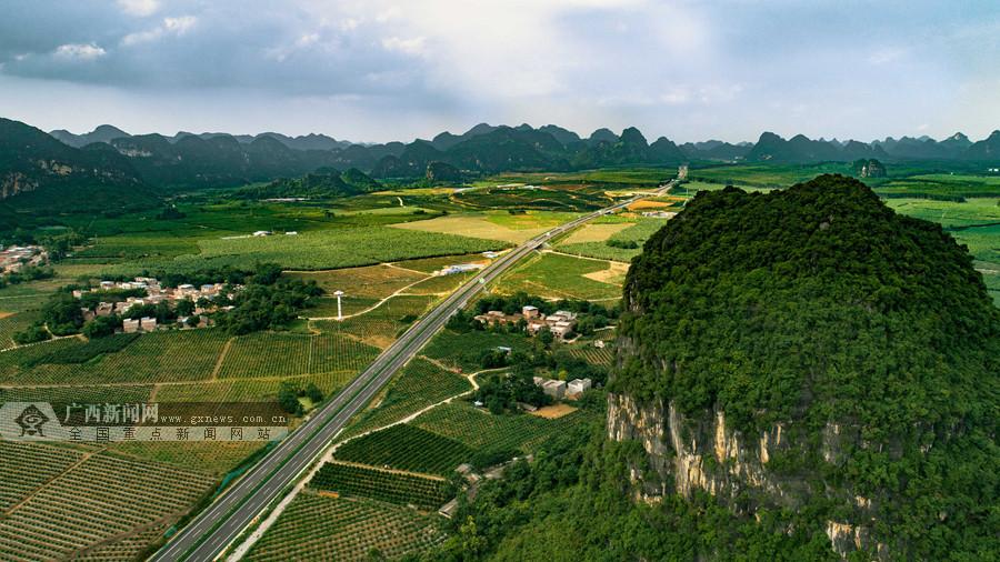 贵隆高速正式通车 南宁市武鸣区至隆安县仅72公里
