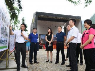 深圳市福田区党政代表团到罗城考察东西部对口扶贫协作工作