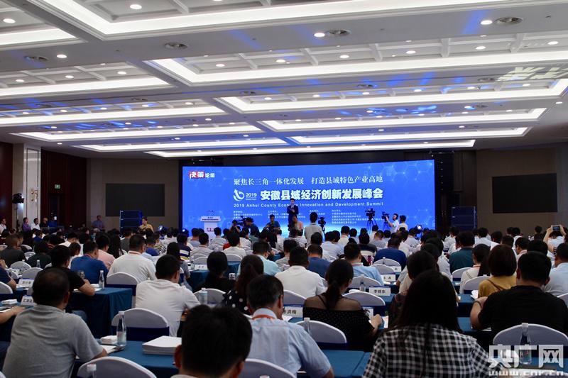 聚焦长三角一体化发展 众专家学者解码安徽县域经济