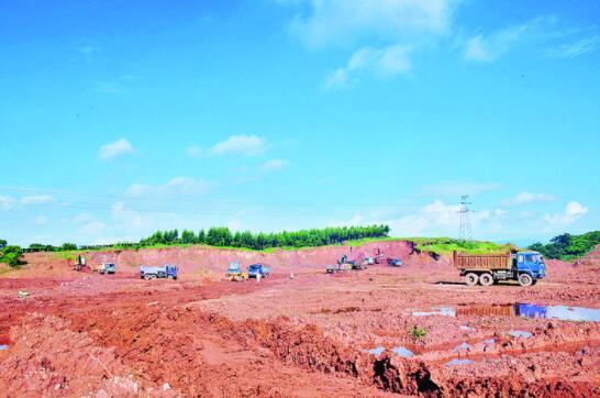 容县:重大项目拉动经济稳增长