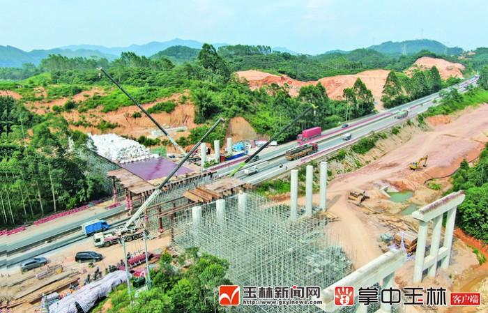 荔浦至玉林高速公路计划提前至2020年底建成通车