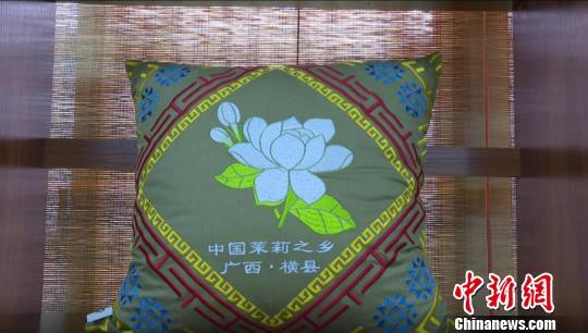 """横县:""""中国茉莉之乡""""兴起文创产业 成脱贫增收""""新路径"""""""