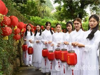 黄姚古镇:开启灯笼节庆之秀  激发旅游文化活力
