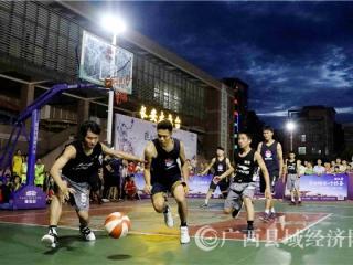 融安县:全民健身新风尚 火力全开篮球热