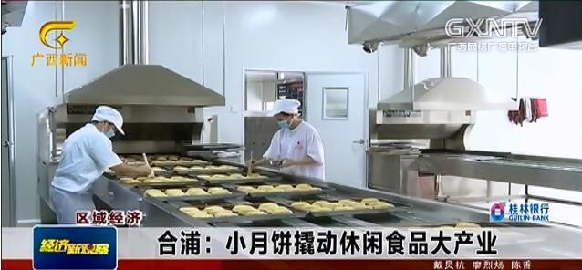 合浦县:小月饼撬动休闲食品大产业
