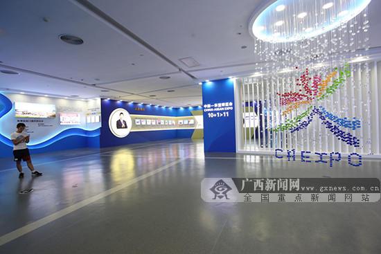 """广西规划馆""""中国-东盟博览会展厅""""正式向公众开放"""