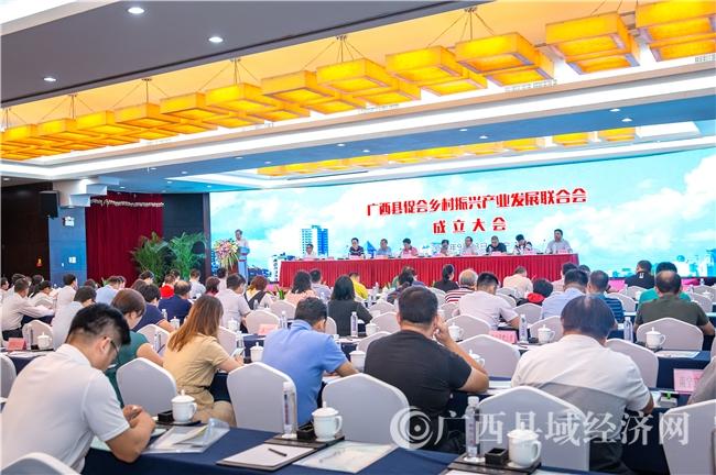 广西县促会成立乡村振兴产业发展联合会