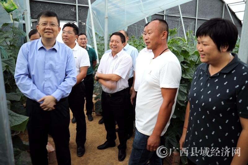 贺州市委书记李宏庆到平桂区调研指导工作