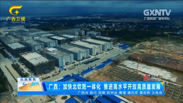 广西:加快北钦防一体化 推进高水平开放高质量发展