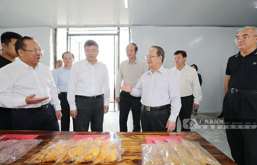 鹿心社深入忻城合山调研
