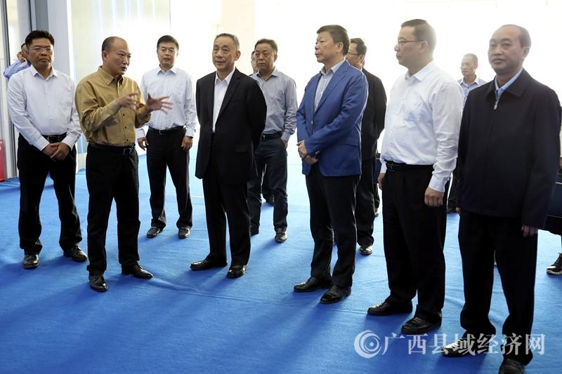 中国法学会领导到平桂区调研工作