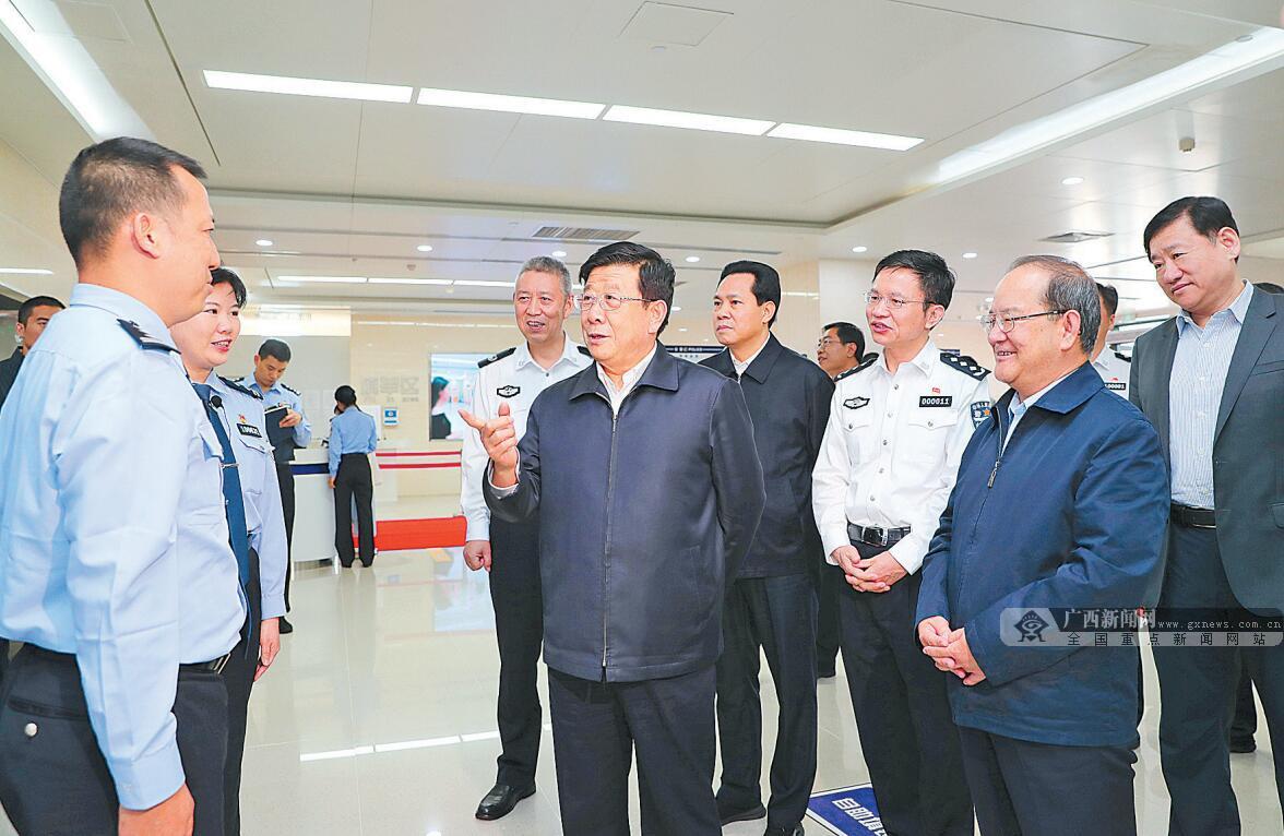 国务委员、公安部部长赵克志在广西调研