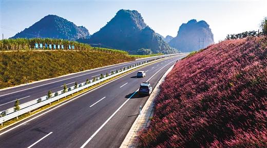 国门大道巨龙飞 兴边富民促发展 ——广西交通投资集团崇左至水口高速公路建成通车