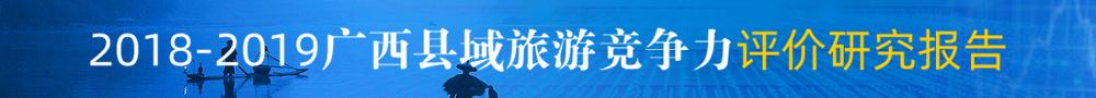 2018-2019年度广西县域旅游竞争力评价研究报告