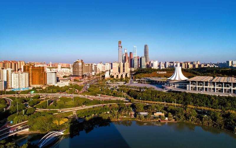 """南宁连续三年被评为""""美丽山水城市"""""""