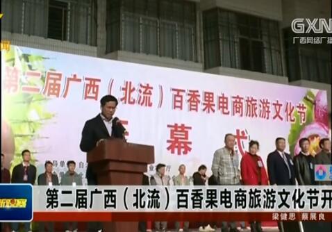 第二届广西(北流)百香果电商旅游文化节开幕