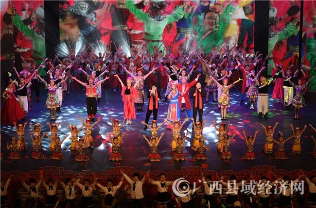 罗城县:2020年春节联欢晚会上演