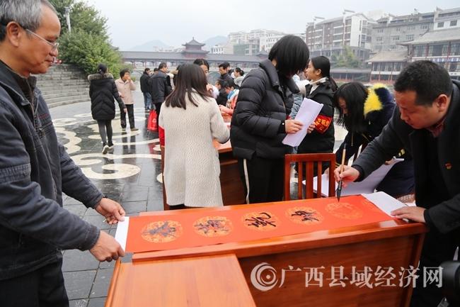 蒙山县举办在职党员进社区活动
