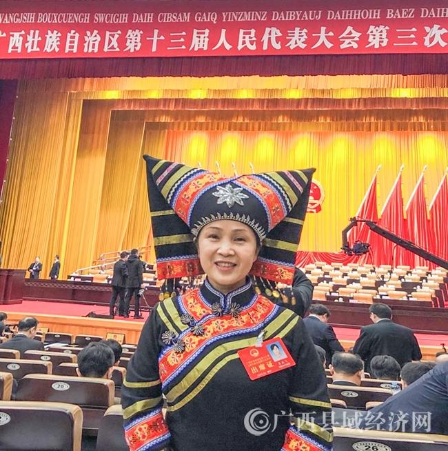 自治区人大代表韦燕飞:不忘初心,传递健康