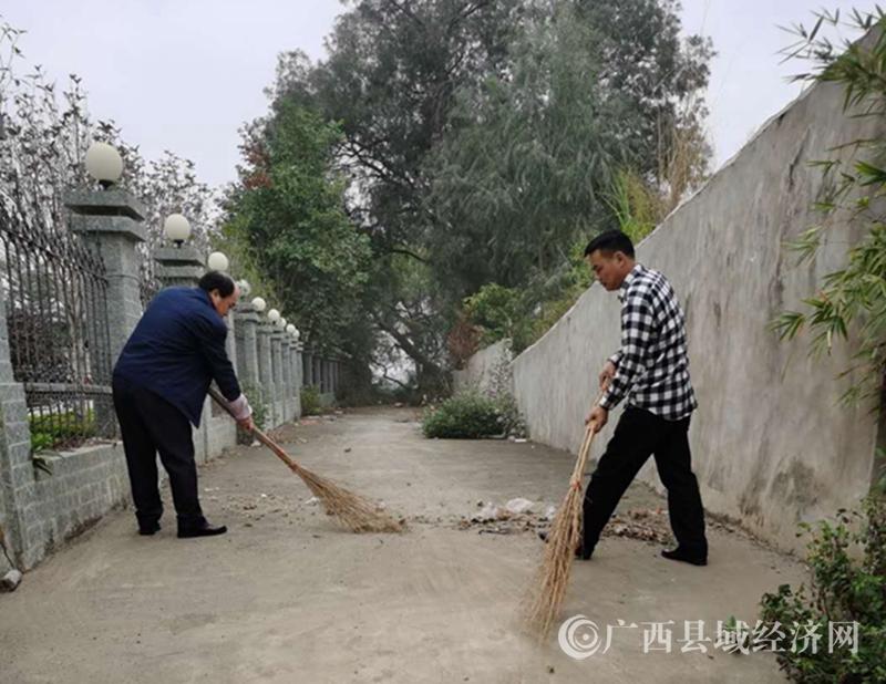 """宁明县司法局开展""""迎新春""""城乡环境整治活动"""