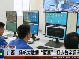"""广西:扬帆大数据""""蓝海"""" 打造数字经济引擎"""