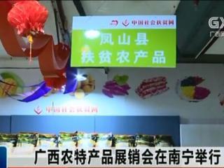 广西农特产品展销会在南宁举行