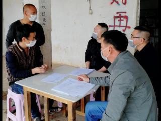 """宁明县司法局:""""走访+服务""""助力企业  复工复产"""