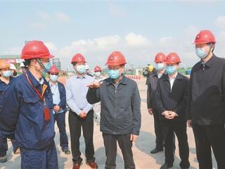 陈武:增速度抢进度补损失 加快推动重大项目全面复工和开工建设