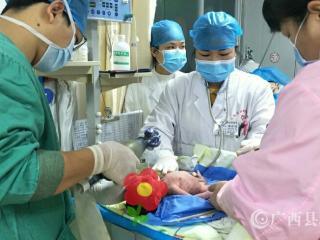 """全力战""""疫""""   共克时艰 ――防城区妇幼保健院用暖心服务保母婴安全"""