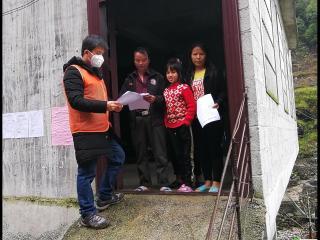 大化古竹村的第一书记:夫妻齐上阵  携手抗疫情