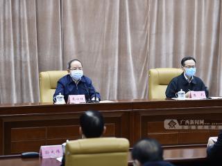 鹿心社陈武部署全区统筹推进新冠肺炎疫情防控和经济社会发展工作
