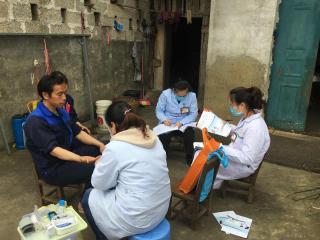 平果县马头镇1.6余万贫困人口签约家庭医生