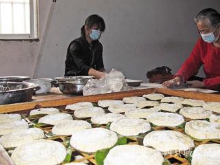 广西瑶乡:清明将到,寒食粑粑飘香