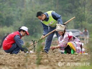 融安县:志愿者抓备耕助脱贫