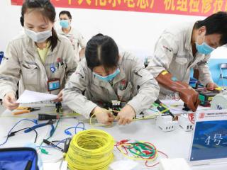 大化县:开展劳动技能大比拼 助力企业复工复产