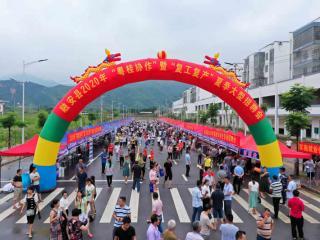 融安县:上万岗位送易地搬迁群众