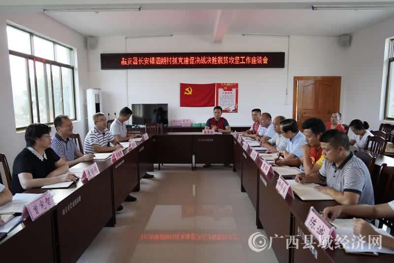 融安县:抓党建促决战决胜脱贫攻坚