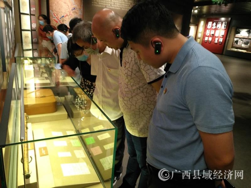 贺州市平桂区政府办党支部到湘江战役纪念馆接受党日主题教育