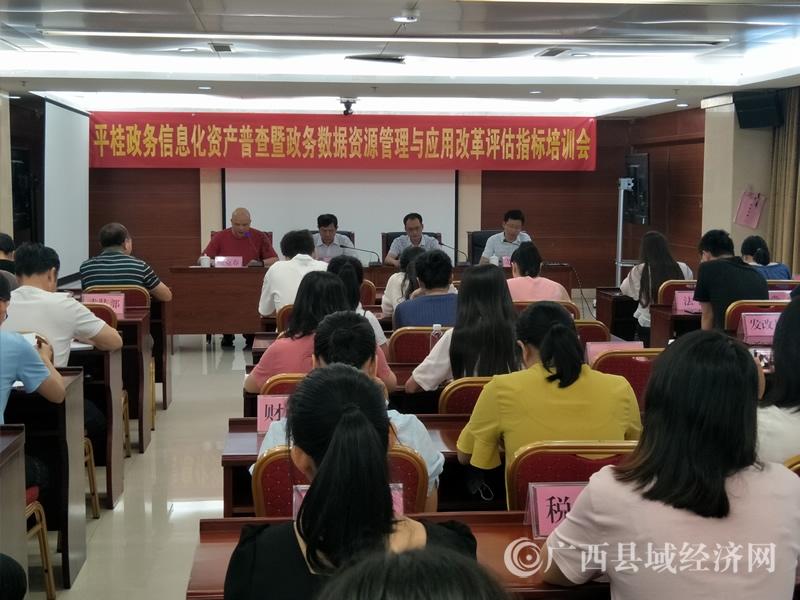 贺州市平桂区:召开政务信息化资产普查培训会