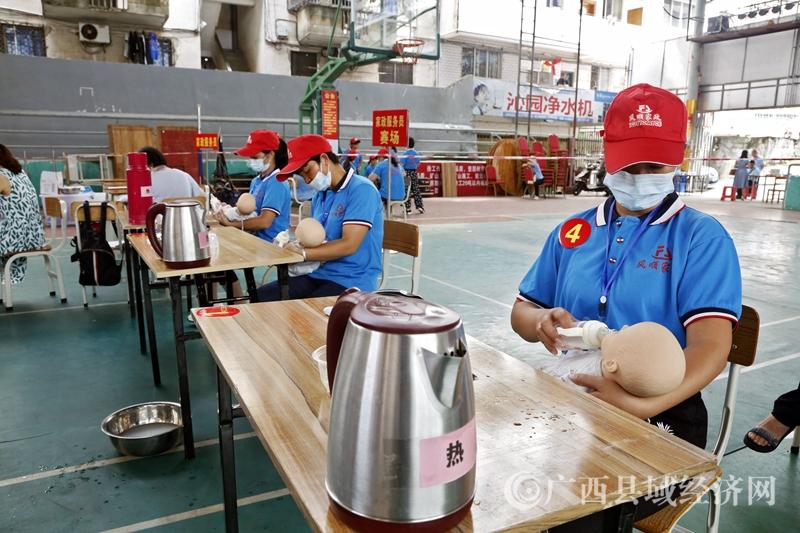 环江县:农民工技能比拼展风采