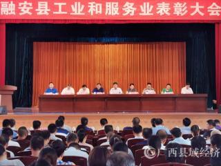 融安县:61家工业和服务业优秀企业受表彰