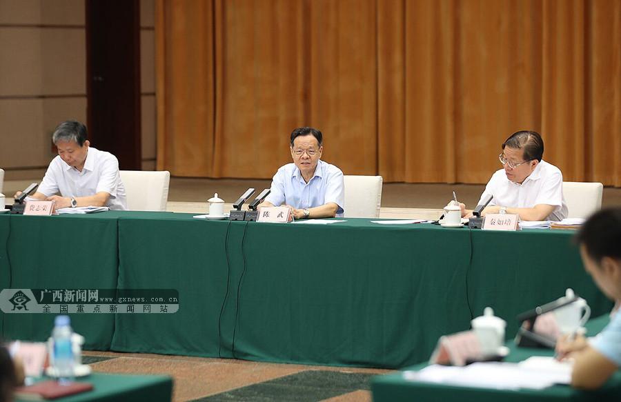 陈武主持召开部分市重大项目建设推进及经济运行分析座谈会(北片区)