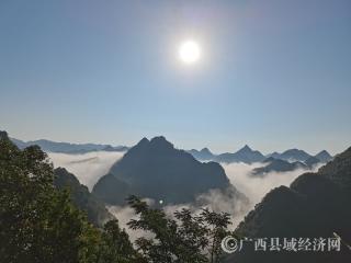 广西乐业县央林村:喀斯特的初秋景色美如画