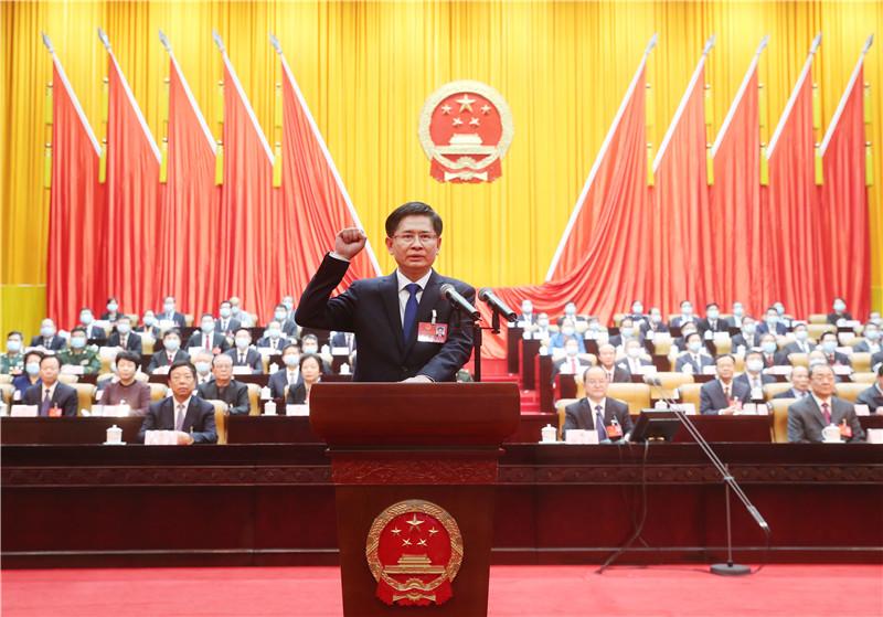 蓝天立当选广西壮族自治区主席